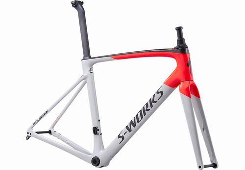 2021 S-Works Roubaix FRAMESET Gloss Satin - Dove Gray Rocket Red Back 500.jpg